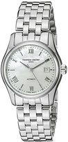 Frederique Constant Women's FC303MPWN1B6B Classics Analog Display Swiss Automatic Silver-Tone Watch