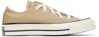 Converse Tan Chuck 70 Low Sneakers