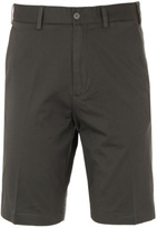 Paul & Shark Dark Khaki Mid Length Chino Shorts