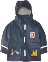 Playshoes Fireman Collection Waterproof Reflective Rain Jacket (18-24 Month)