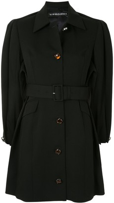 Y/Project Belted Trench Coat