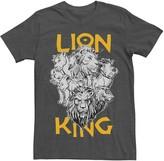Disney Disney's The Lion King Men's Group Graphic Tee