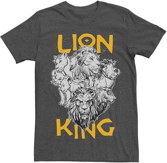 Disney Disney's The Lion King Men's Group Graphic Tee
