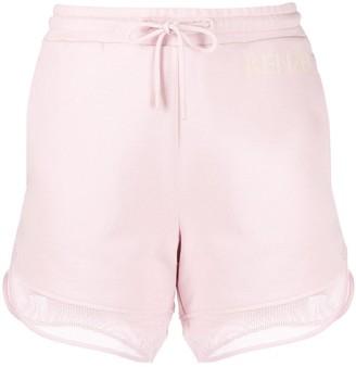 Kenzo Mesh Trim Shorts