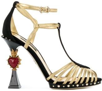 Dolce & Gabbana Bette sculpted heel sandals