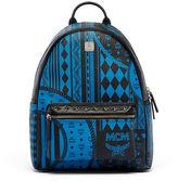 MCM Stark Baroque-Print Medium Backpack