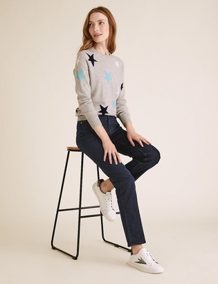 Marks and Spencer Sienna Straight Leg Jeans with Stretch