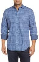 Bugatchi Classic Fit Pattern Sport Shirt