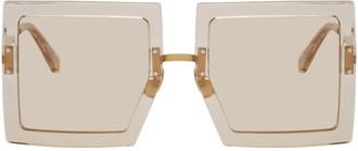Jacquemus Transparent Les Lunettes Carrees Sunglasses