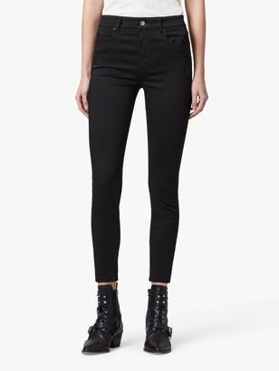 AllSaints Miller High Rise Skinny Jeans