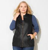 Avenue Faux Leather Vest