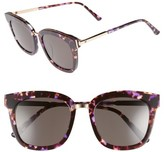 Gentle Monster Women's Button 54Mm Zeiss Lens Sunglasses - Purple/ Gold