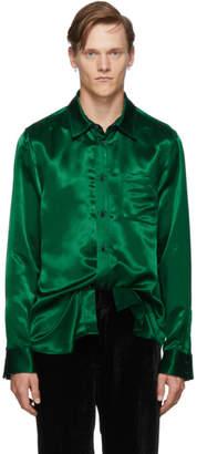 Sies Marjan Green Sander Satin Shirt