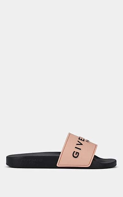 Givenchy Women's Logo Rubber Slide Sandals - Pink