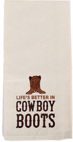 'Better in Cowboy Boots' Dish Towel