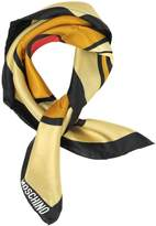 Moschino Teddy Printed Silk Bandana