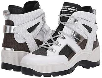 MICHAEL Michael Kors Brooke Bootie (Bright White Multi) Women's Shoes