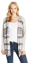 O'Neill Juniors' Alani Open-Front Hooded Cardigan Sweater
