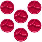 Zak Designs Confetti 6-pc. Divided Plate Set
