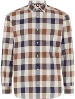 Aquascutum Check Regular Fit Long Sleeve Shirt