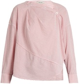Rachel Comey Welcome cotton-seersucker top