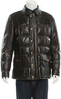 Tom Ford Leather & Suede Puffer Jacket