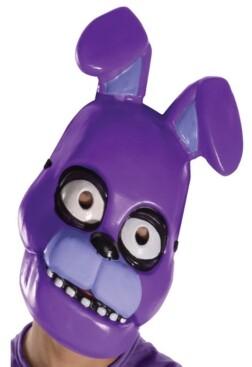 BuySeasons Five Nights at Freddys - Bonnie Little and Big Boys Pvc Mask