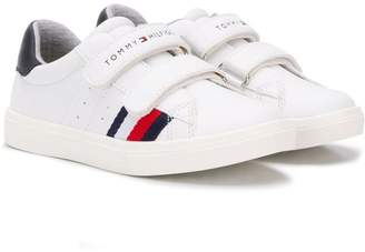 Tommy Hilfiger Junior touch-strap sneakers