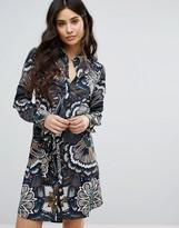 AX Paris Sateen Shirt Dress