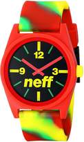 Neff Daily Wild Men's Stylish Watch - Rasta Swirl / One Size Fits All