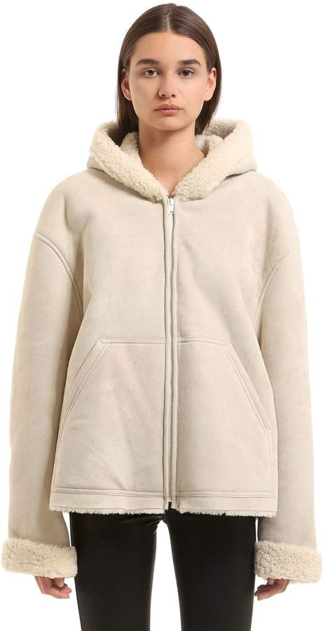 Yeezy Hooded Shearling Jacket