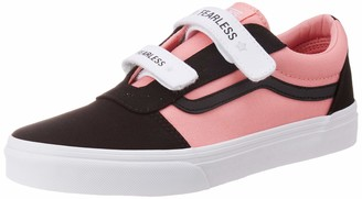 Vans Girls' Ward V-Velcro Canvas Trainers