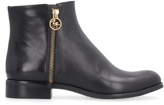 MICHAEL Michael Kors Jayce Leather Ankle Boots