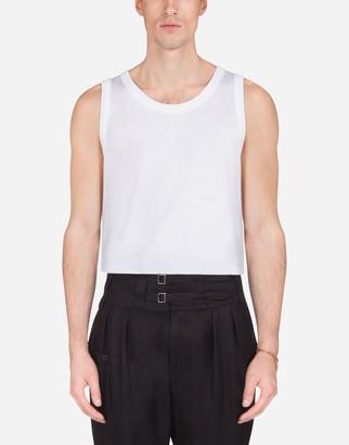 Dolce & Gabbana Cotton Jersey Vest