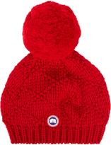 Canada Goose Pompom-embellished wool beanie hat