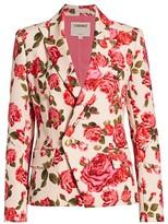 L'Agence Kenzie Floral Blazer