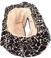 Patricia Ann Designs Minky Dot Shopping Cart Cover, Giraffe/Chamois