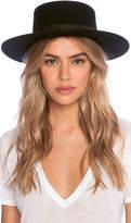 Janessa Leone Gabrielle Hat in Black. - size L (also in M,S)
