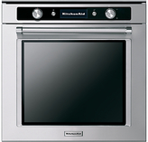 KitchenAid KOASP Twelix Artisan Built-In Single Oven, Stainless Steel
