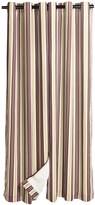 """Weather Mate Weathermate Prelude Stripe Insulated Curtains - 80x84"""", Grommet Top"""
