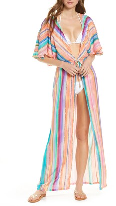 Luli Fama Heat Waves Cover-Up Wrap