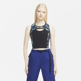Nike Women's Allover Print Crop Top ACG