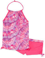 Free Country Girls Pattern Tankini Set - Big Kid