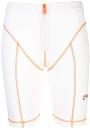 Heron Preston high-waisted cycling shorts