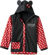 Disney Disney's Minnie Mouse Girls 2-8 Dot Rain Coat