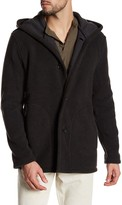 James Perse Double Face Hooded Coat