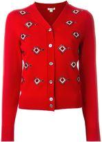 Marc Jacobs embellished cardigan - women - Polyamide/Polyester/Spandex/Elastane/glass - M