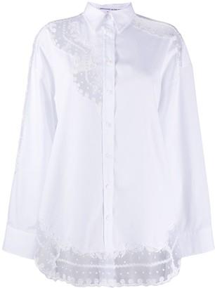 Ermanno Scervino Lace-Trim Shirt