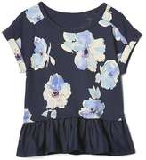 Gap Floral peplum top