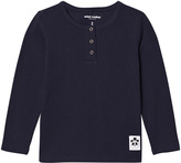 Mini Rodini Navy Basic Grandpa